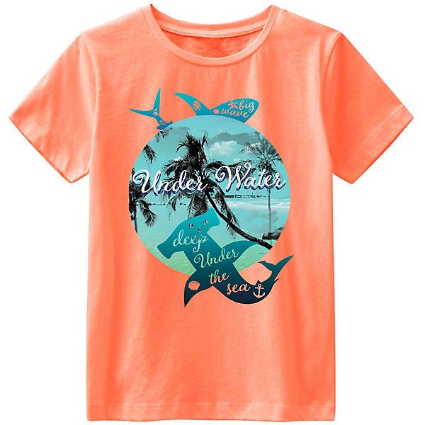 NAME IT Jungen T-shirt NKMVagno weiß Ocean Kid Größe 122//128 bis 158//164