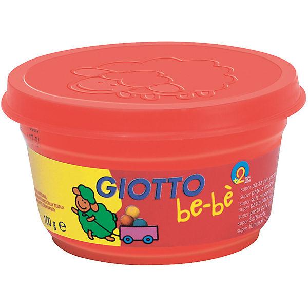 Мягкая паста для моделирования Giotto, 3шт х 100 г, красный, зеленый, розовый.