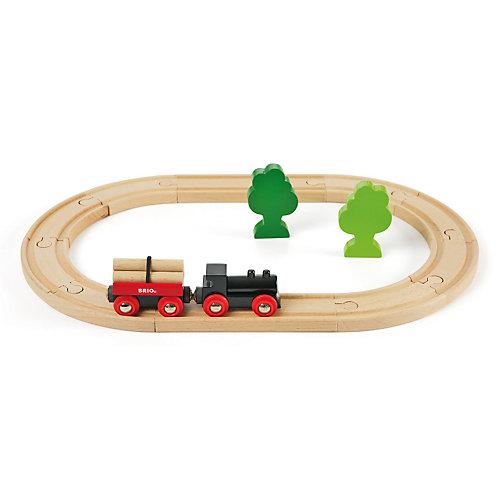 Железная дорога BRIO малая, 14 деталей от BRIO