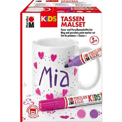 KiDS Porcelain & Glas Painter - Tassen-Set MIA