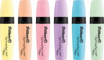 Textmarker 490® Pastell, 6 Farben pastell