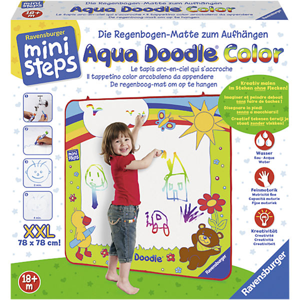 ministeps aqua doodle xxl color ravensburger mytoys. Black Bedroom Furniture Sets. Home Design Ideas