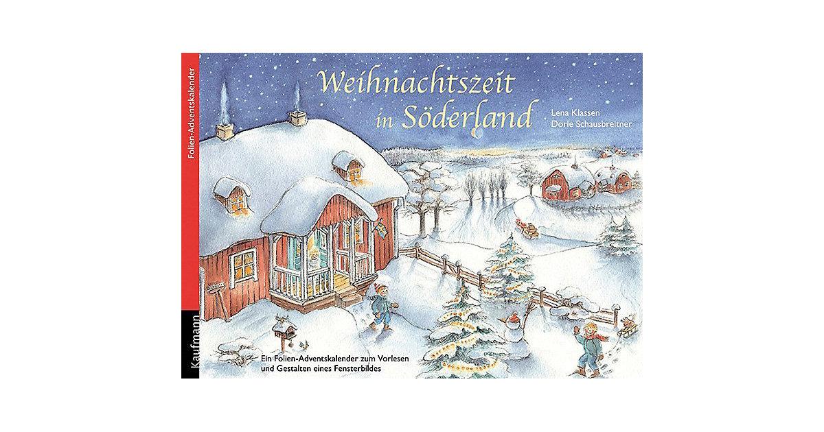 Weihnachtszeit in Söderland, Folien-Adventskale...