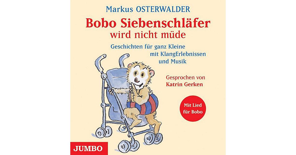 Bobo Siebenschläfer wird nicht müde, 1 Audio-CD