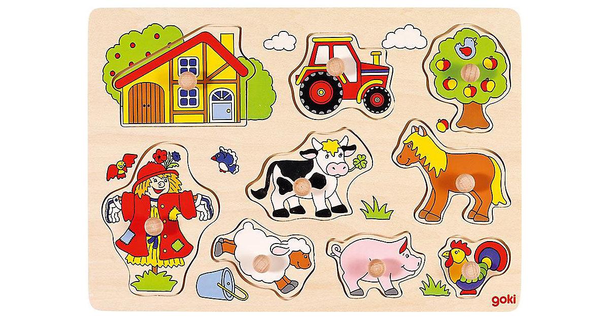 Holzpuzzle Bauernhof