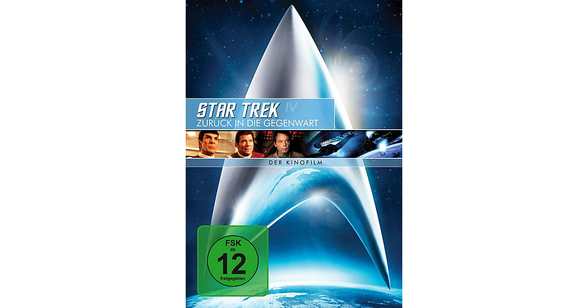 DVD Star Trek 4 - Zurück In die Gegenwart - Rem...