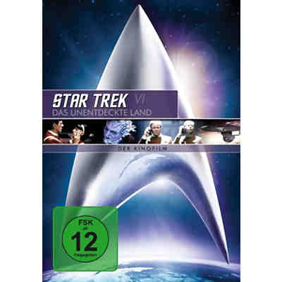 DVD Star Trek 6 - Das unentdeckte Land - Remastered