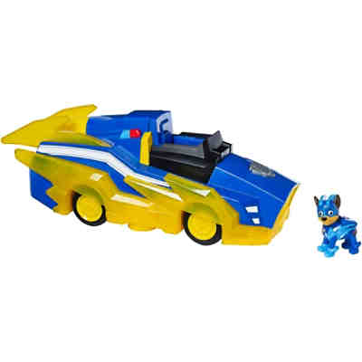 PAW Patrol Chases Mighty Pups Charged Up Deluxe Verwandlungs-Fahrzeug