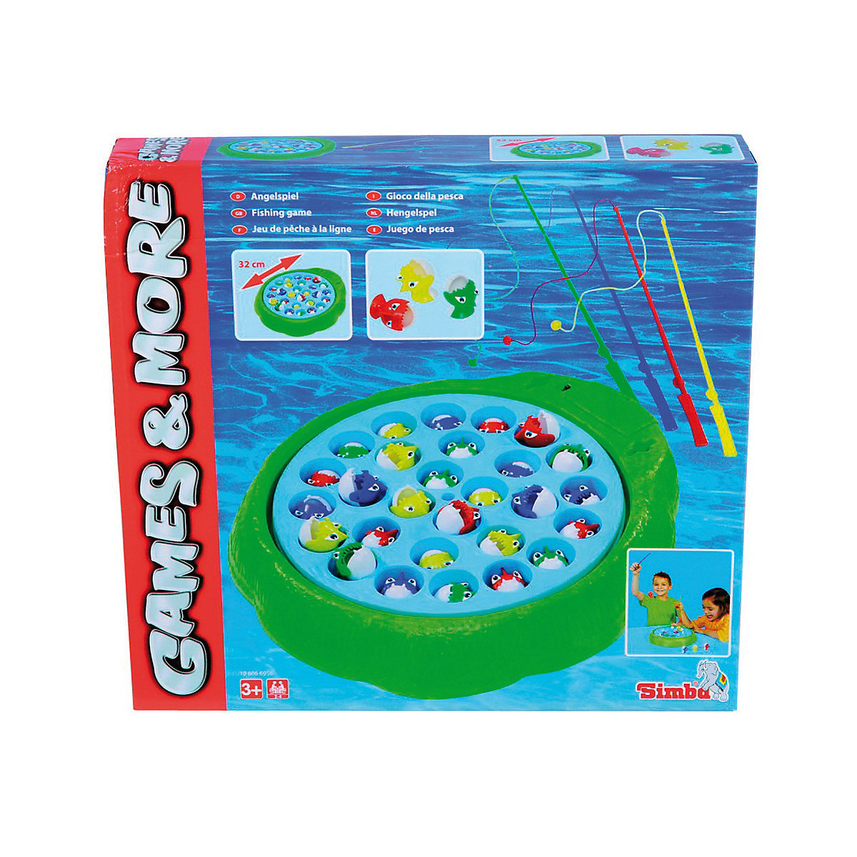 Kinderspiel Fische Angeln