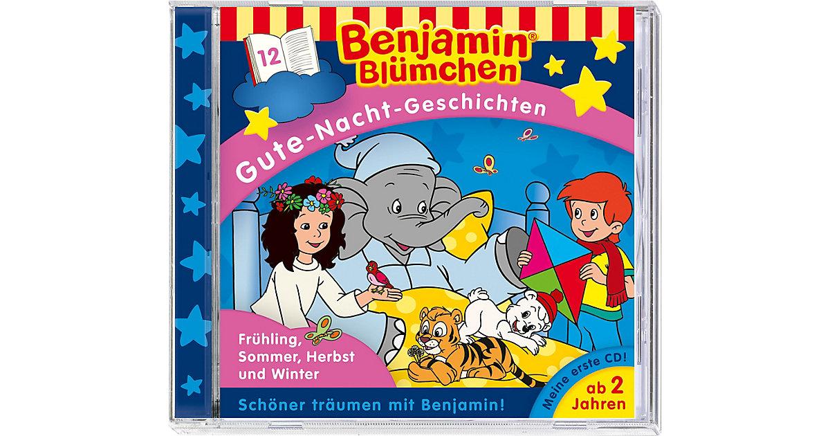 CD Benjamin Blümchen - Gute Nacht G. 12 - Jahreszeiten