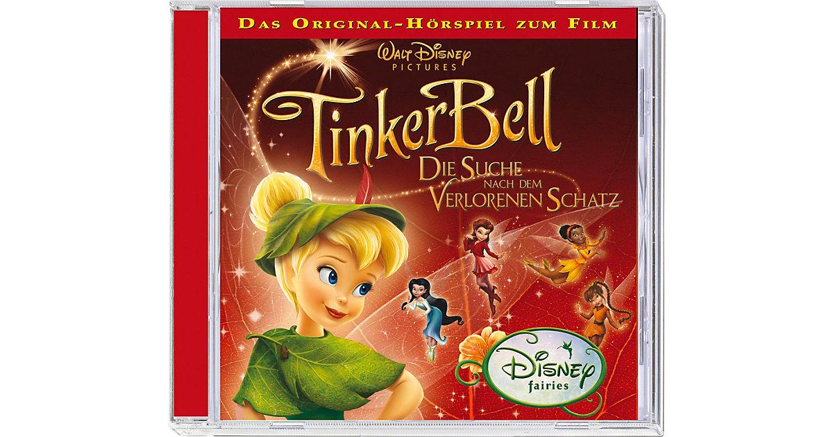 CD Tinkerbell 2 - Die Suche nach dem verlorenen Schatz Hörbuch