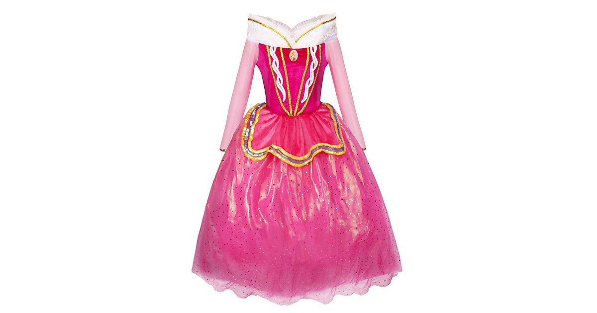 Kinderkostüm Dornröschen Märchenkleid Kinderkostüme pink/rosa Gr. 110/116 Mädchen Kinder
