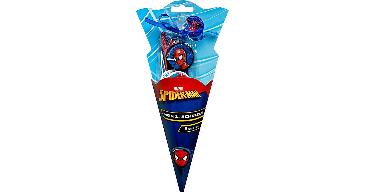 Mini Schultüte Spider-Man, 6-tlg. mehrfarbig
