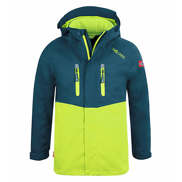 3in1 Jacke Bryggen Outdoorjacken für Kinder