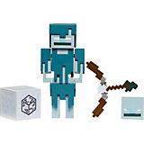 Набор Minecraft базовый фигурка+аксессуары Зимогор GLC71