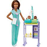 """Игровой набор Barbie """"Профессии"""", Детский врач"""