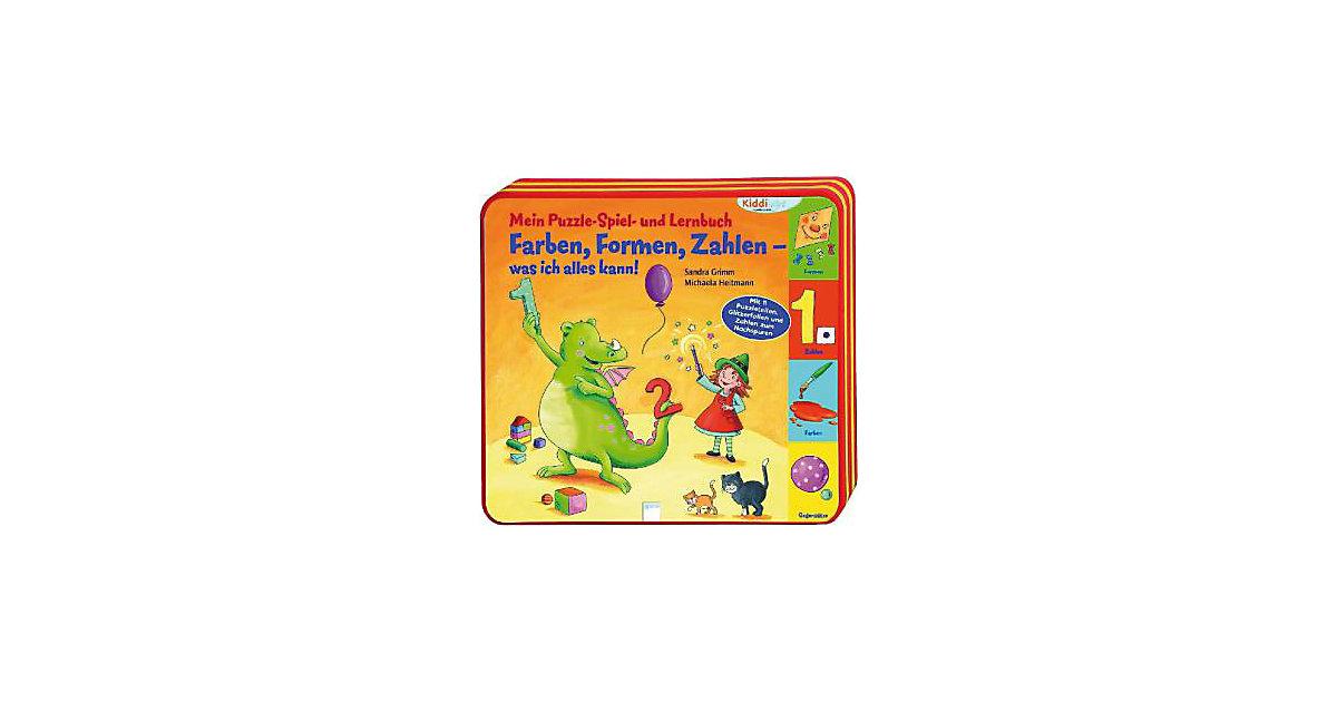 Kiddilight Mein Puzzle- Spiel- und Lernbuch: Fa...