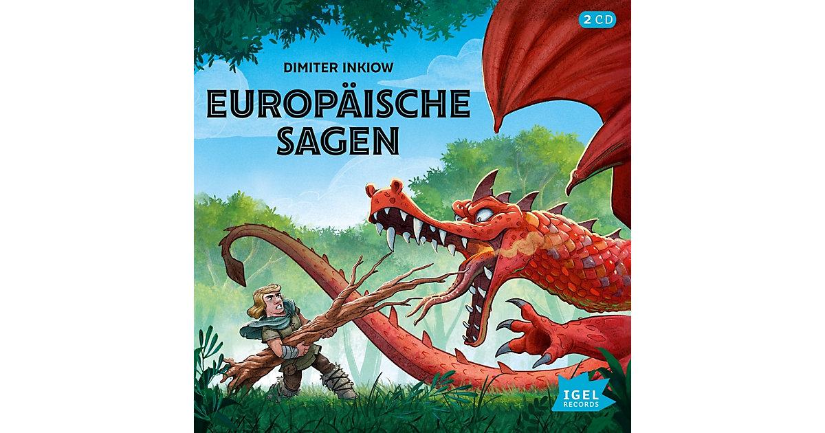 Europäische Sagen, 2 Audio-CDs