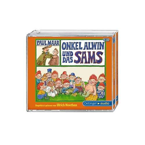 Oetinger Onkel Alwin und das Sams, 3 Audio-CDs