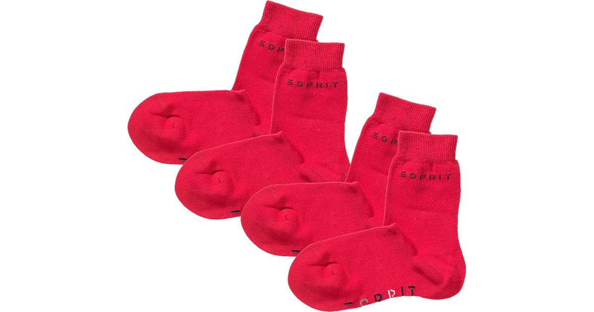 ESPRIT · Kinder Socken Logo Gr. 23-26 Mädchen Kleinkinder