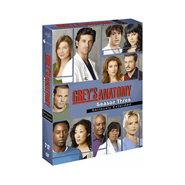 DVD Grey´s Anatomy - Season 3