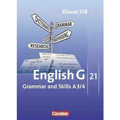 English G 21, Ausgabe A: 7./8. Schuljahr, Grammar and Skills