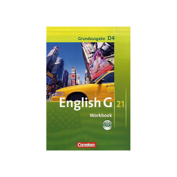 English G 21, Ausgabe D: 8. Schuljahr, Workbook m. Audio-CD, Grundausgabe