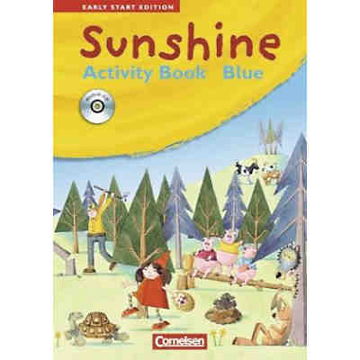 Sunshine - Early Start Edition: 1./2. Schuljahr, Activity Book Blue, JÜL-Ausgabe