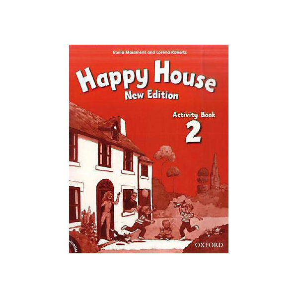 Happy House, New Edition: Activity Book, w. Multi-ROM