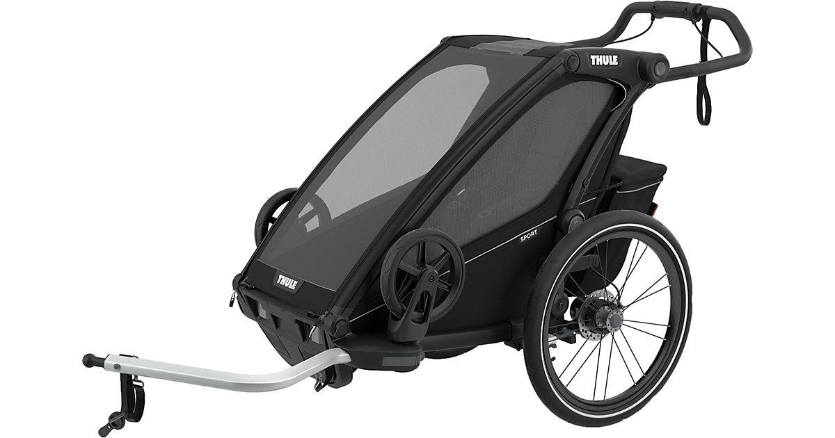Fahrradanhänger Chariot Sport 1, Midnight Black schwarz
