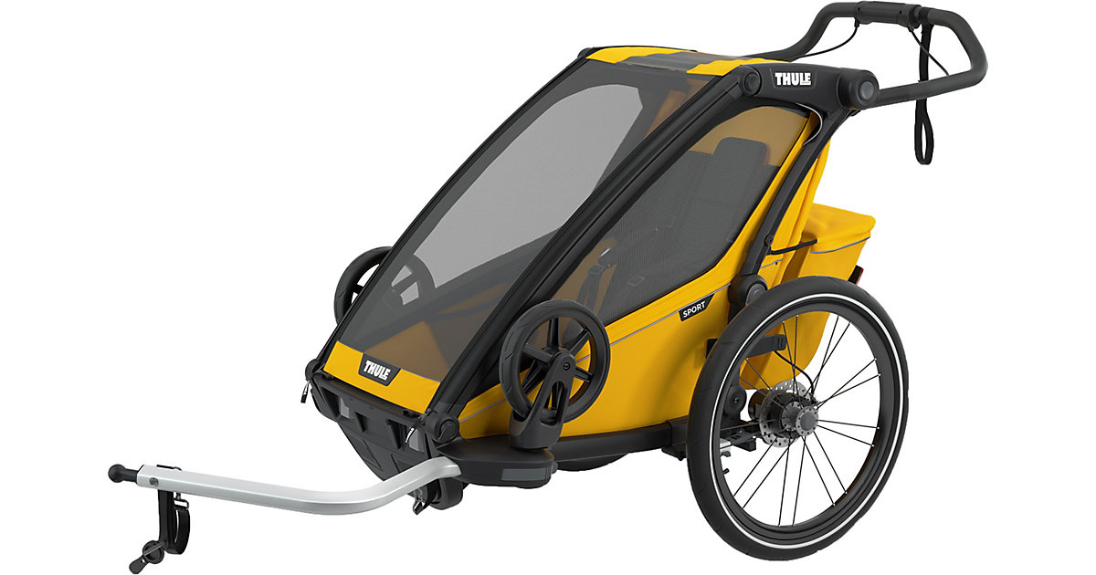 Fahrradanhänger Chariot Sport 1, Spectra Yellow gelb