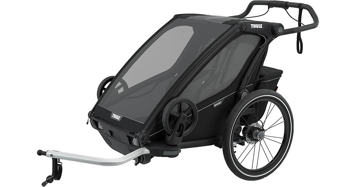 Fahrradanhänger Chariot Sport 2, Midnight Black schwarz