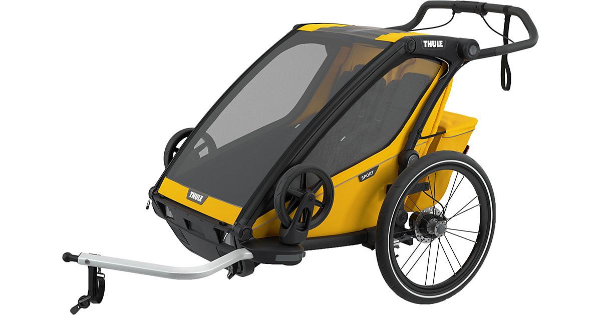 Fahrradanhänger Chariot Sport 2, Spectra Yellow gelb