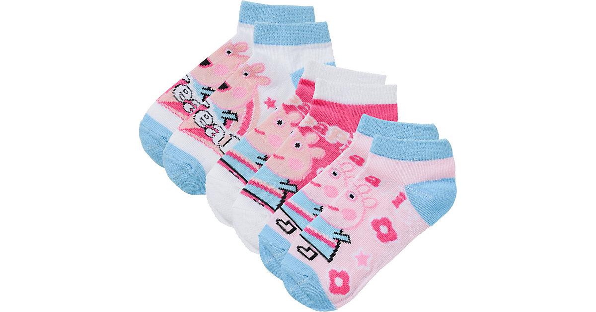 Peppa Pig Socken 3er Pack  blau Gr. 23-26 Mädchen Kleinkinder