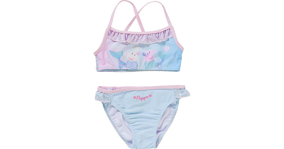 Peppa Pig Kinder Bikini türkis Gr. 116 Mädchen Kinder