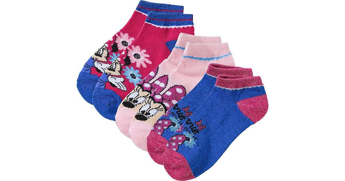 Disney Minnie Mouse Socken 3er Pack  rosa Gr. 23-26 Mädchen Kleinkinder