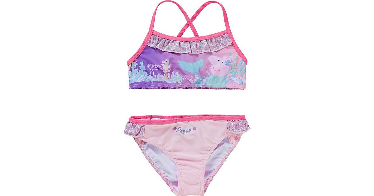 Peppa Pig Kinder Bikini rosa Gr. 98 Mädchen Kleinkinder