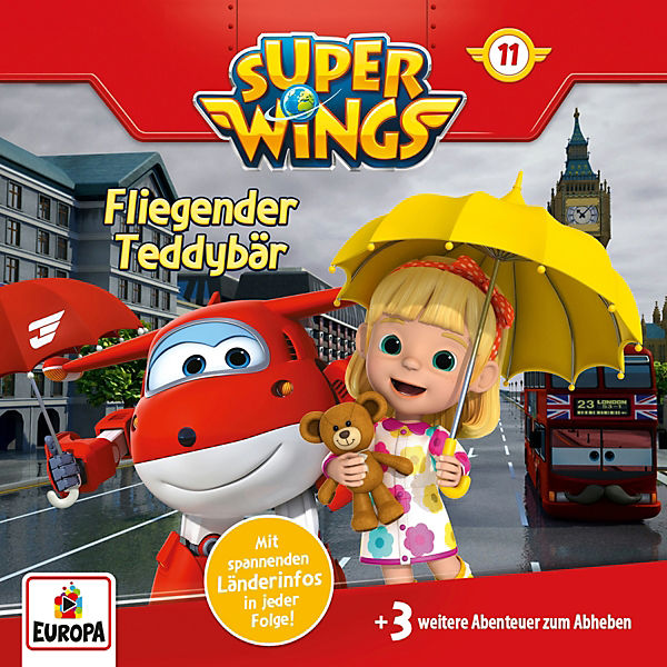 Super Wings F11 - Fliegender Teddybär