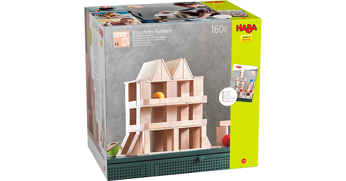 Baustein-System Clever-Up! 4.0 beige