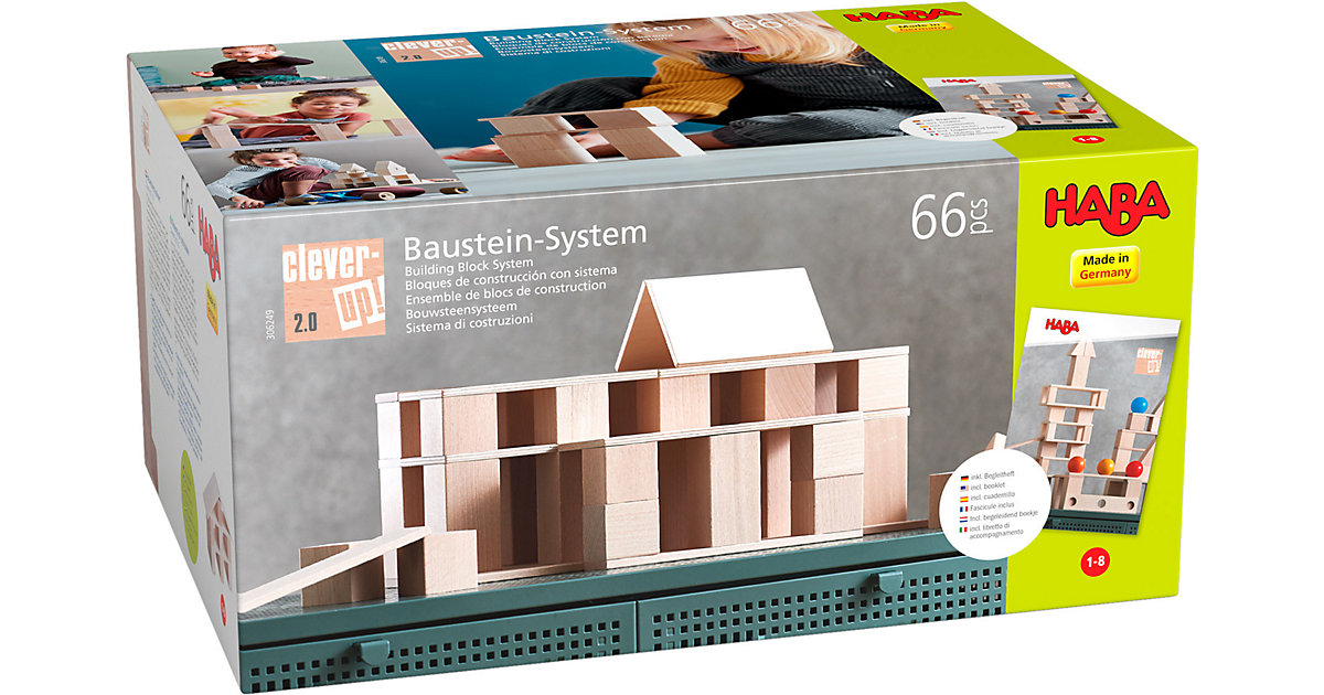 Baustein-System Clever-Up! 2.0 beige