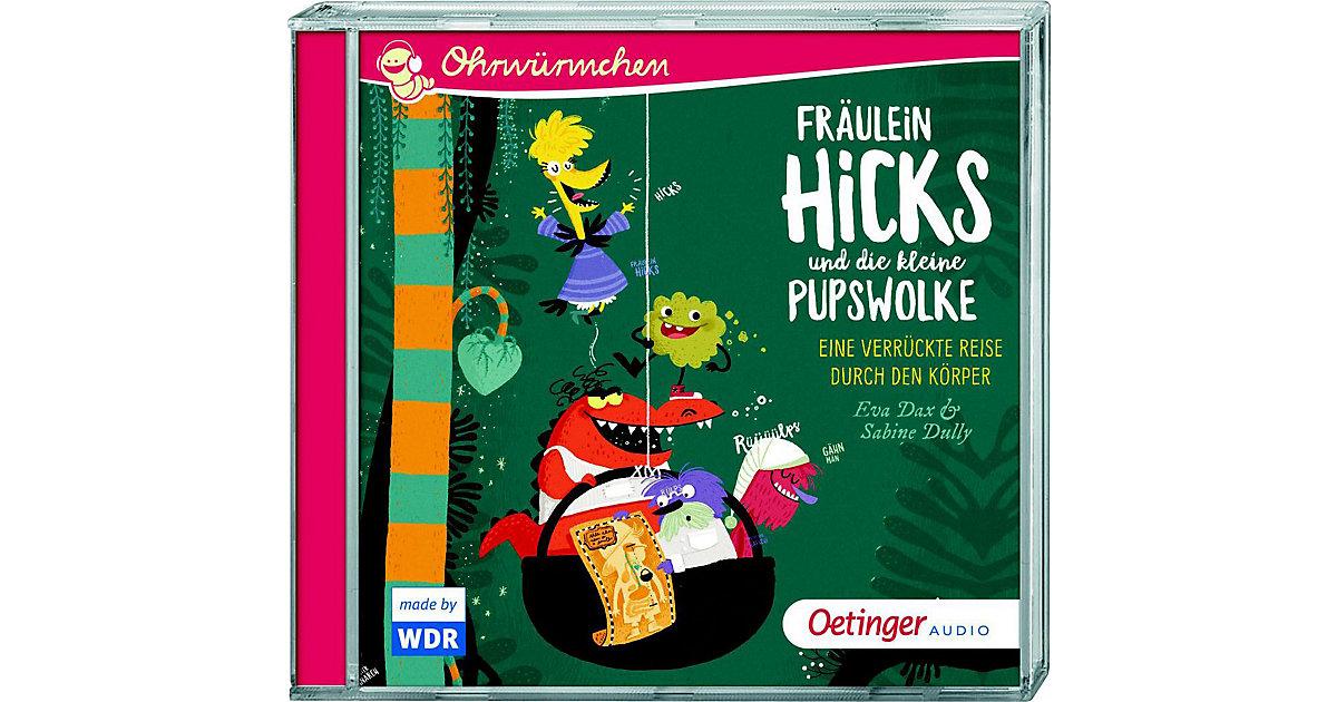 Ohrwürmchen Fräulein Hicks und die kleine Pupswolke, Audio-CD Hörbuch