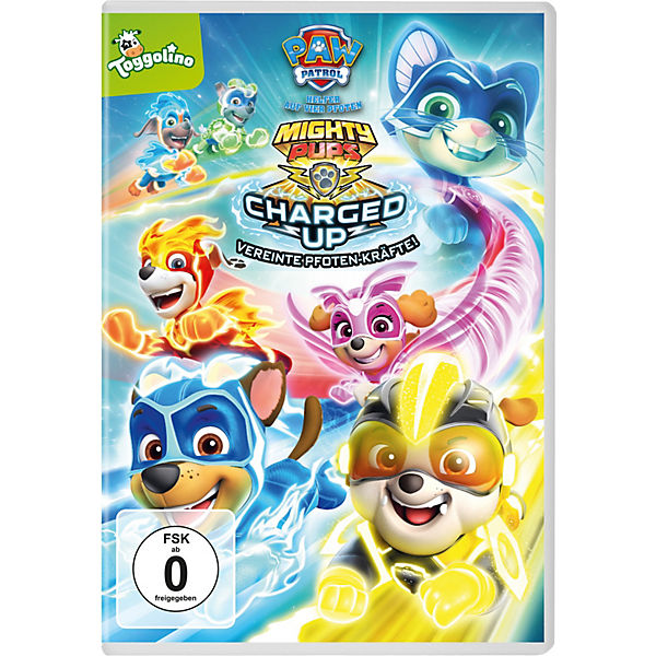 DVD PAW Patrol - Mighty Pups Charged Up