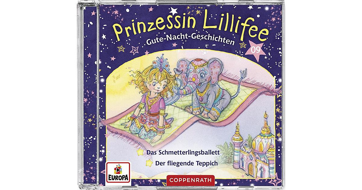Prinzessin Lillifee - Gute-Nacht-Geschichten (09), Audio-CD Hörbuch