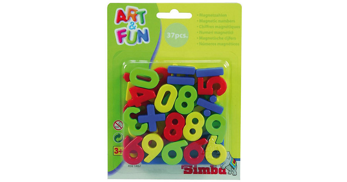 Art & Fun Magnetzahlen