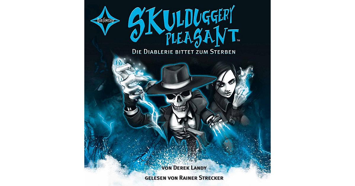 Skulduggery Pleasant: Die Diablerie bittet zum Sterben, 6 Audio-CDs Hörbuch