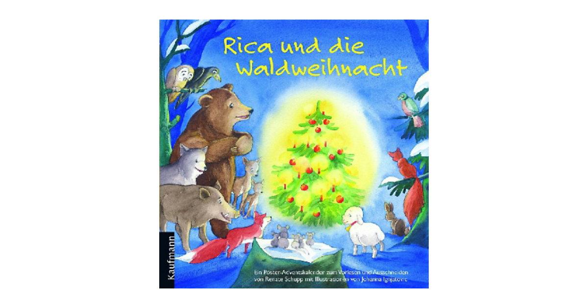 Rica und die Waldweihnacht, Poster-Adventskalen...
