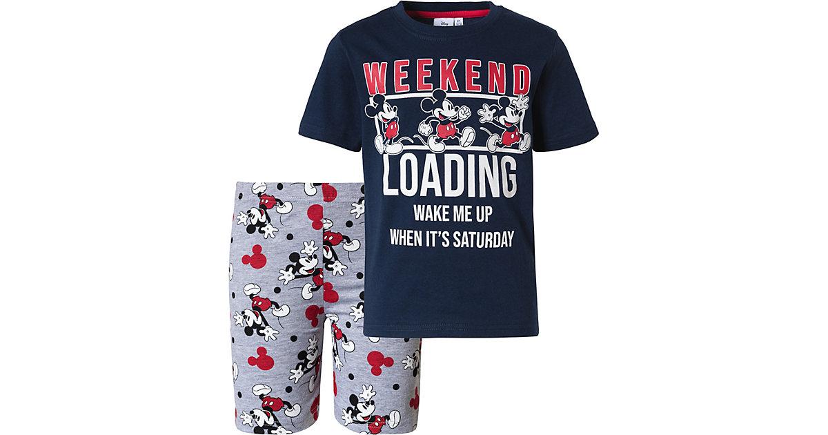 Disney Mickey Mouse & friends Schlafanzug  weiß Gr. 116 Jungen Kinder