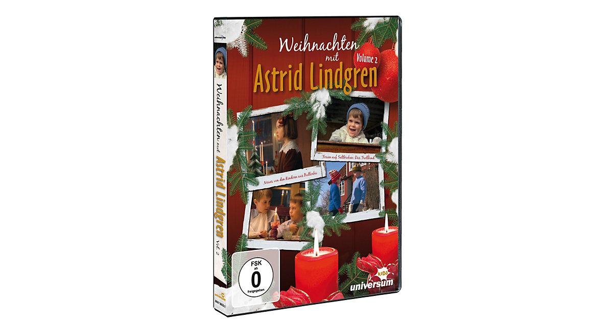 DVD Weihnachten mit Astrid Lindgren Vol. 2 Hörbuch