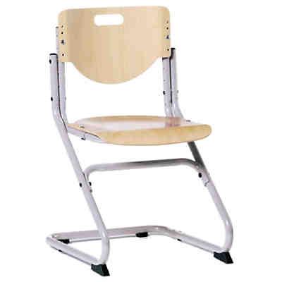 Schreibtischstuhl KID\'s Chair Plus silberfarbig/Buche, Kettler | myToys