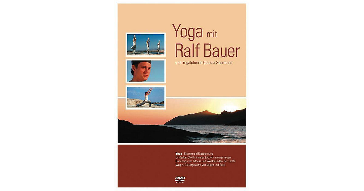 DVD Yoga mit Ralf Bauer (im Digipak)